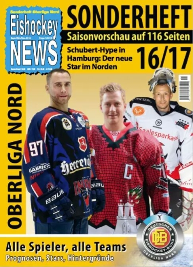 Eishockey-News Oberliga Sonderheft 2016/2017